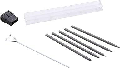 PenAgain BAUM00078BN Twist 'n Write Pencil Lead Refills, 5 Per Pack, 12 Packs