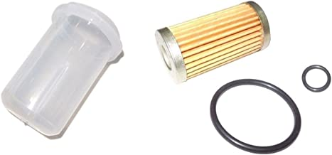 New Iseki Tractor Fuel Filter with O-ring & BOWL TX2140, TX2160