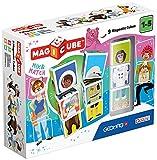Geomag- Magicube Mix & Match Juguetes de construcción, Multicolor, 9 Piezas (124)