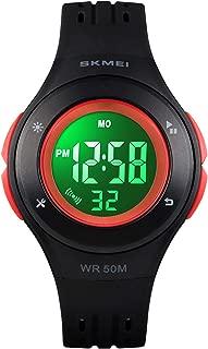 Kid Watch LED Multi Function Digital Watch, 50m Waterproof Sport Alarm Stopwatch Watches for boy Girl Children Watches Gift