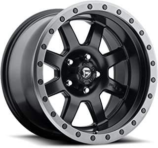 FUEL TROPHY BD -Matte BLK Wheel with Painted (18 x 9. inches /6 x 139 mm, 20 mm Offset)