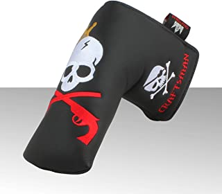 Craftsman Golf King Skull Headcover Putter Cover for Scotty Cameron Taylormade Odyssey Blade