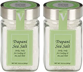 Trapani Sea Salt 2 Pack – From Sicily. Use in salt mills and cooking.