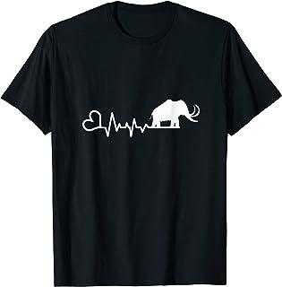 Mammut Geschenkidee Lustiges Mammut Shirt Geschenk Für Urzeit Fans T-Shirt