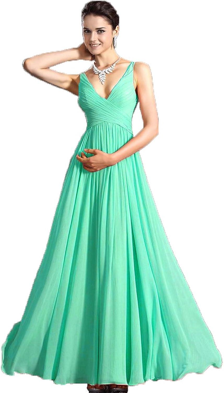 Aurora Bridal reg; Women's Sexy VNeck Aline Party Dress