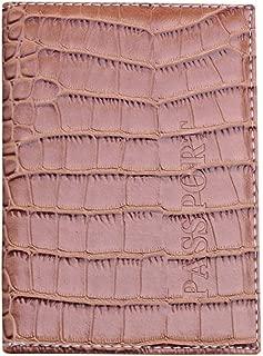 Femme Portefeuille Papiers de Voiture Alaso Porte-cartes de Passeport Porte-ch/équiers Porte Carte Pochette en Cuir Carte didentit/é Homme Etui Permis