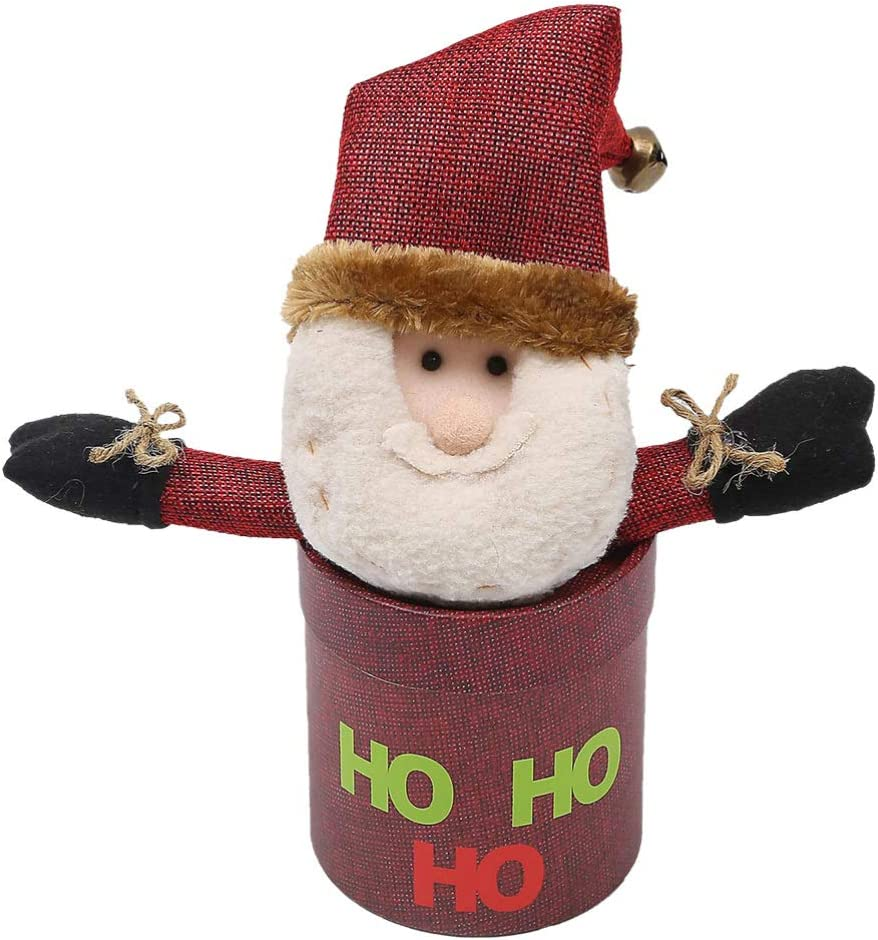 PRETYZOOM Christmas Raleigh Mall Candy Box Tampa Mall Santa Claus Jar Holiday Chri