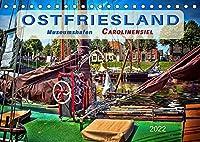 Ostfriesland - Museumshafen Carolinensiel (Tischkalender 2022 DIN A5 quer): Peter Roder mit einer Auswahl seiner faszinierenden Bilder aus Ostfrieslands bezauberndem alten Hafen Carolinensiel. (Geburtstagskalender, 14 Seiten )