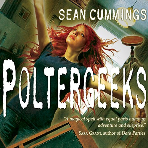 Poltergeeks audiobook cover art