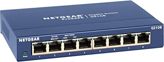 Netgear GS108GE  ProSAFE - Switch de red (8 puertos