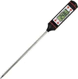Energy01 Thermomètre Cuisson Thermomètre de Cuisine Thermometre à Viande Sonde Ultra-Longue de Lecture Instantanée avec Bo...