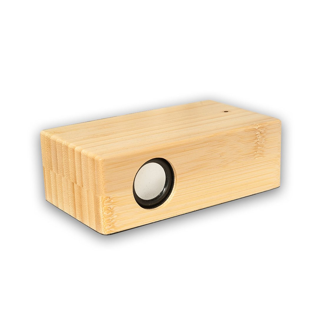 Rookee Induction Speaker White Bamboo