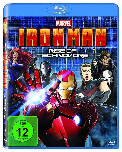 Iron Man - Rise of Technovore [Blu-ray]
