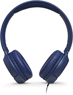 JBL TUNE 500 - Wired On-Ear Headphones - Blue