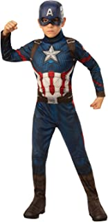 Rubie's 4243 Avengers Endgame- Captain America Child Costume, Size 3-5 Yrs Costume, Small