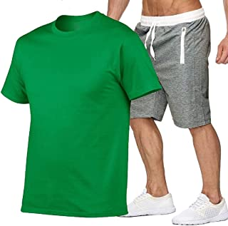Comaba Mens Oversize Runnung Casual Activewear With Pocket Short Pants Sportswear