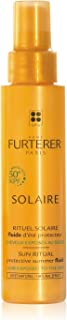 Rene Furterer SOLAIRE Protective Summer Fluid, Non-Oily Water Resistant Leave-in Spray, Protects from UV Rays, Salt, Chlorine, 3.3 oz.