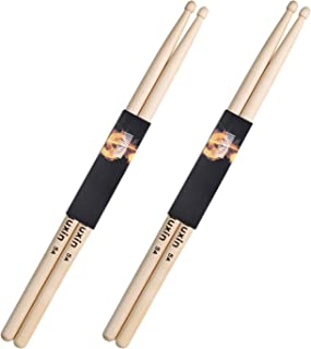 Anyuxin Drum Sticks 5A Classic Maple Wood Drumsticks (2 Pair)