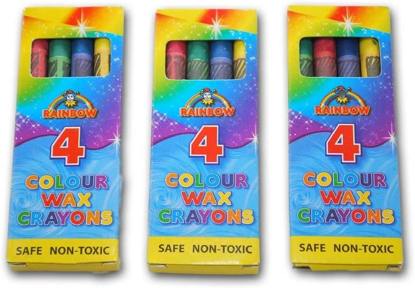 The In a popularity Little Party Shop 5 X Packet 4 Colour Crayons Wax Popular brand Pack A in
