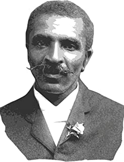 George Washington Carver notebook - achieve your goals, perfect 120 lined pages #1