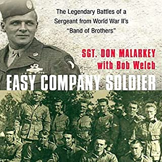 Easy Company Soldier audiobook cover art