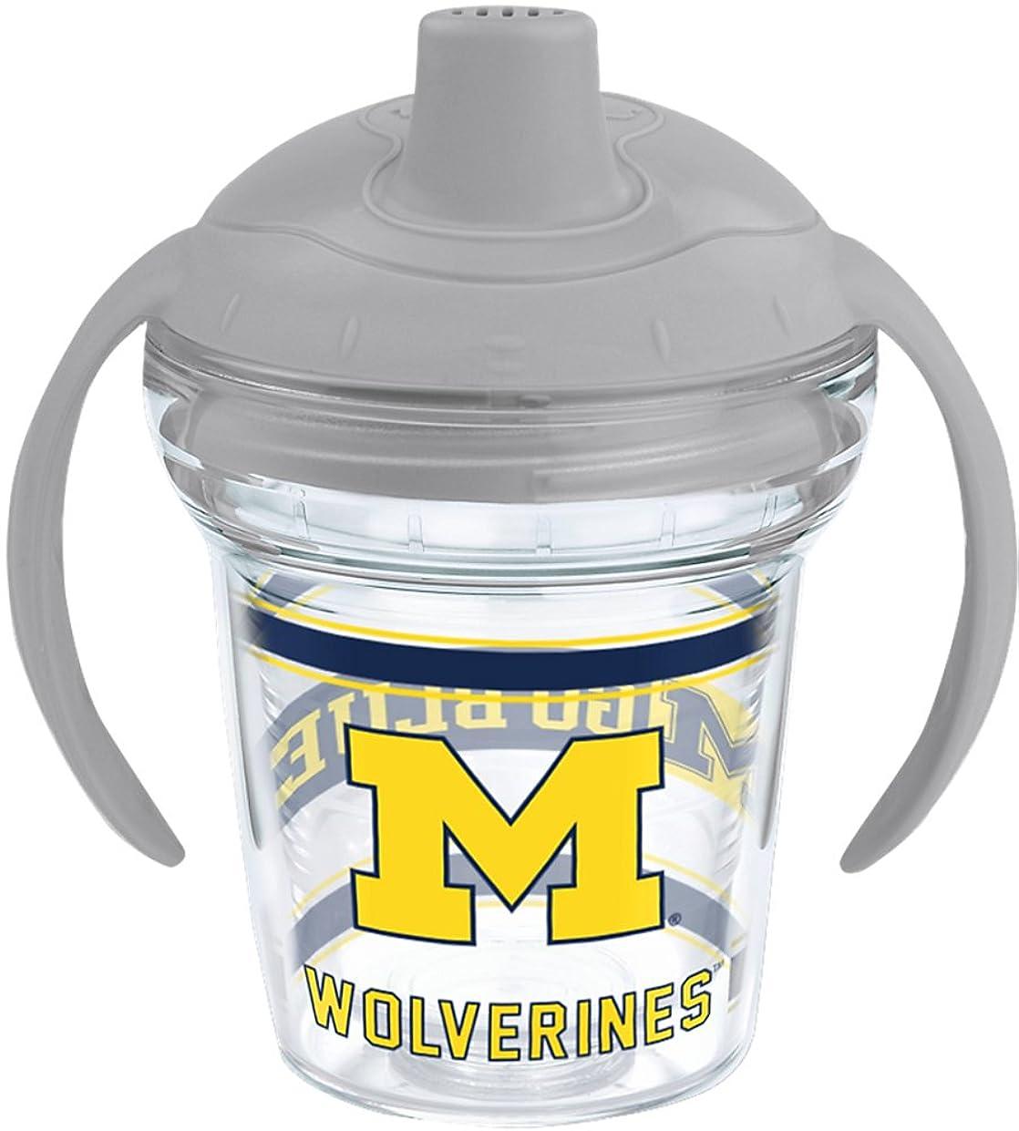 デザート抽選同封するNCAAミシガン州立大学の6-oz。ラップSippy Cup One Size MICHIGAN-UNIV-SIP