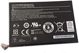 XITAI 3.7V 27Wh 7300mAh AP12D8K 1ICP4/83/103-2 Repuesto Batería para Acer Iconia Tab W510 W510P Series Tab P3-171 A3 (A3-A10)