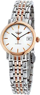 Longines White Dial Two-tone Ladies Watch L43095127