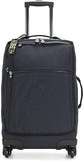 Kipling Darcey Softside Spinner Wheel Luggage, Blue Bleu, Carry-On 22-Inch