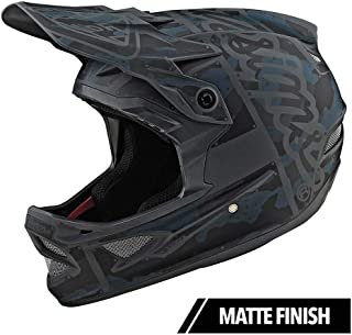 Troy Lee Designs D3 Fiberlite US Helmet: Mono