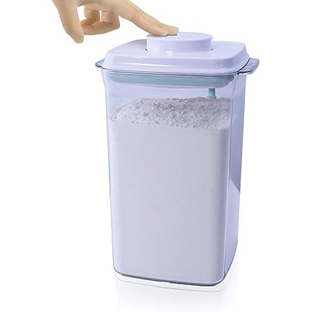 iChewie - BopTop (1 Pièce -2.5kg Farine) Récipient hermétique pour Le Stockage des Aliments - Boîte à Joint mécanique en Silicone - empilable sans BPA - 4000ml
