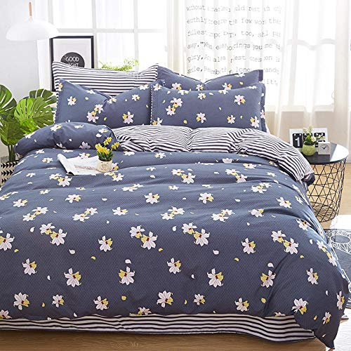WOGQX Childrens Bedroom Bedding Bed Sets,Bedding Set Double Queen King Bed Duvet Cover Sheet Cover Pillow Case-AA28_200 * 230
