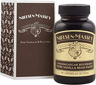 Nielsen-Massey Madagascar Bourbon Pure Vanilla Bean Paste, with Gift Box, 4 oz
