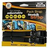 Auto Car Parts Online Correas ROK 12-42 Ajustable Loop-Thru -2Pk Negro