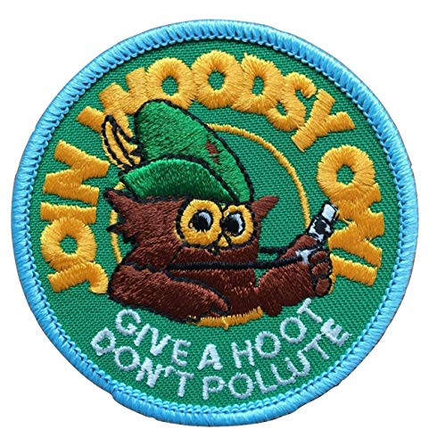 Join Woodsy Owl Give A Hoot Don't Pollute Patch - 1973
