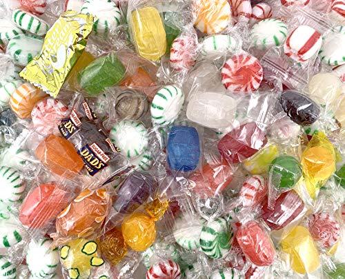 CrazyOutlet Hostess Candy Assortment, Over 15 Favorite Flavors Fruit Hard Candy Variety - 4 Lbs