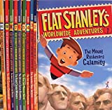 Flat Stanley's Worldwide Adventures #1–#10 Pack: Intrepid Canadian Expedition, Amazing Mexican Secret, African Safari Discovery, Flying Chinese Wonders, Australian Boomerang Bonanza, US Capital Commotion, Showdown at the Alamo + Three More Titles