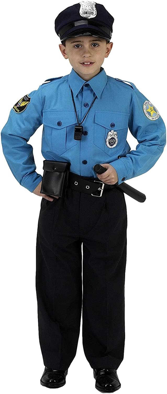 Aeromax PS810 Junior Police Officer Suit, Size 8 10
