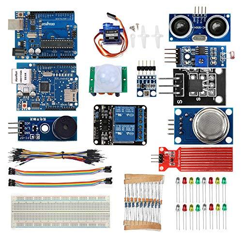 OSOYOO IoT - Juego de accesorios para Arduino con control remoto de aplicaciones Android y iOS