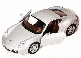 Kinsmart Porsche Cayman S, Silver 5307D - 1/34 scale Diecast Model Toy Car, but NO BOX