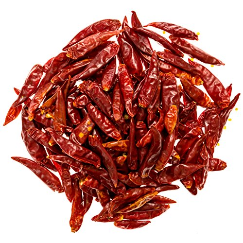 Soeos Szechuan Dried Chili,Dry Szechuan Pepper, Dry Chile Peppers, Sichuan Pepper, Dried Red Chilies, 4oz, (Very Mild Spicy)