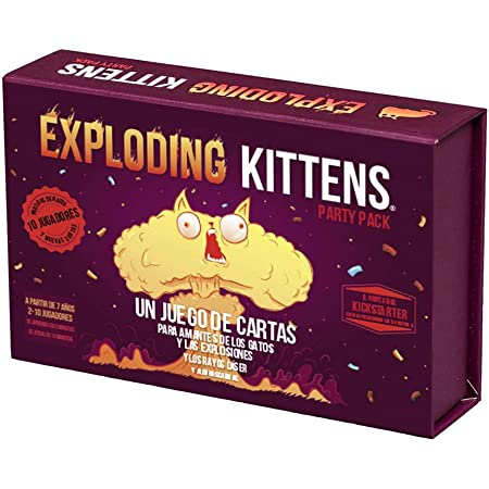 Exploding Kittens Party Pack - Juego de Mesa en Español