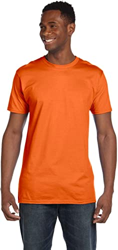4980 Nano T-Shirt Homme 1 Orange + 1 Vintage gris M