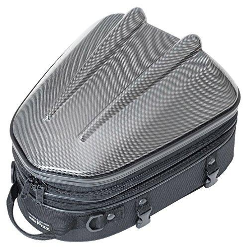 タナックス MOTOFIZZ シェル シートバッグ MT/カーボン柄 (容量10-14?) MFK-238CA