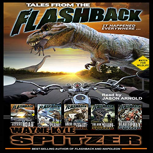 Tales from the Flashback audiobook cover art