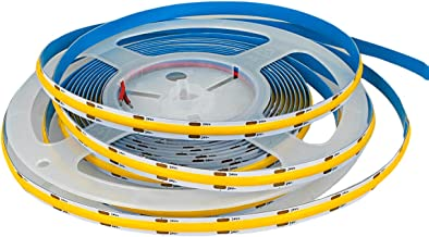 LEDLUX COB-LED-spoel, 5 meter, COB-LED-strip 24 V, 10 W/M 120 lm/W 1200 lm/M, warm wit 3000 K, CRI>90 IP20, op maat te sni...