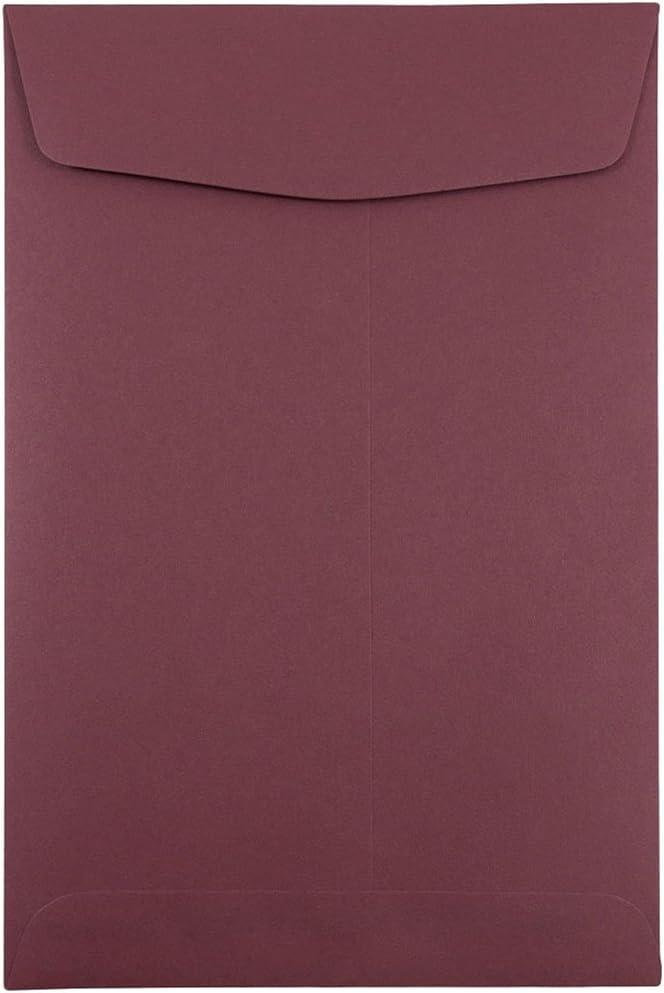 JAM PAPER 6 x 9 Max 75% OFF Open - Burgundy Opening large release sale Envelopes Catalog End Premium