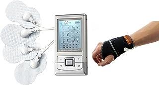 HealthmateForever Dolor 6 modos Dual Channel dispositivo electroterapia, mejor vuelta cuello cuello dolor ciático alivio del estrés