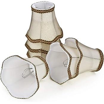 Fuloon Paralume in Tessuto, Set di 6 Paralume Moderna Stile