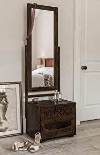The Attic Ambient Dressing Table (Lacquered Finish, Walnut)
